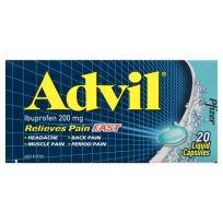 Advil 20 Liquid Capsules