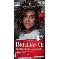 Schwarzkopf Brilliance Permanent Hair Colour 88 Dark Brown Allure