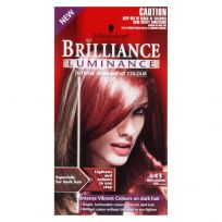 Schwarzkopf Brilliance Luminance Permanent Hair Colour L43 Smouldering Red