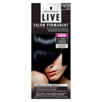 Schwarzkopf Live Salon Permanent Hair Colour 1.1 Blue Black