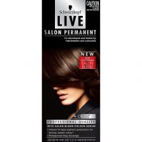 Schwarzkopf Live Salon Permanent 4-0 Medium Brown