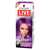 Schwarzkopf Live Hair Colour Ultra Brights Magnet Purple