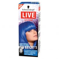 Schwarzkopf Live Hair Colour Ultra Brights Electric Blue