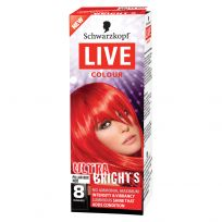 Schwarzkopf Live Hair Colour Ultra Brights Pillar Box Red
