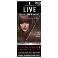 Schwarzkopf Live Salon Permanent 6-82 Light Rose Brown