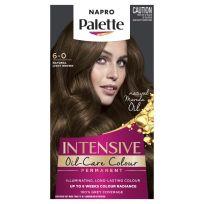 Napro Palette Hair Colour Permanent 6-0 Natural Light Brown
