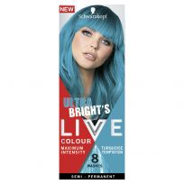 Schwarzkopf Live Colour Ultra Bright's Turquoise Temptation
