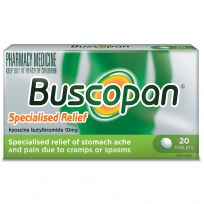 Buscopan 10mg 20 Tablets