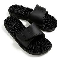 Maseur Invigorating Massage Sandal Black Size 7