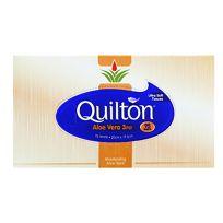 Quilton Facial Tissues Aloe Vera 95 Pack