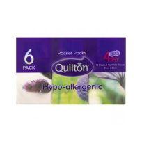 Quilton Pocket Tissue 6 Pack
