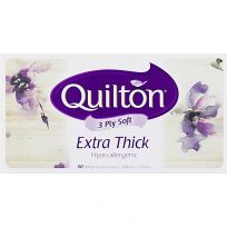 Quilton Facial Tissues Extra Thick Classic 110 Pack