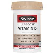 Swisse Ultiboost Vitamin D 250 Capsules