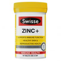 Swisse Ultiboost Zinc + 60 Tablets