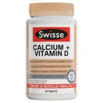 Swisse Ultiboost Calcium + Vitamin D 90 Tablets