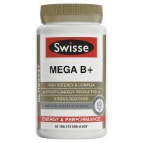 Swisse Ultiboost Mega B+ 60 Tablets