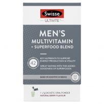 Swisse Ultivite Men's Multi + Superfood Blend 7 Sachet Pack