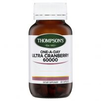 Thompson's One-A-Day Ultra Cranberry 60,000mg 60 Capsules