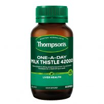 Thompson's Milk Thistle 42000mg One-A-Day 60 Capsules