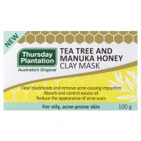 Thursday Plantation Tea Tree and Manuka Honey Clay Mask 100g