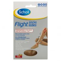 Scholl Flight Sox Ladies Natural Size 4 -6 (1 Pair)