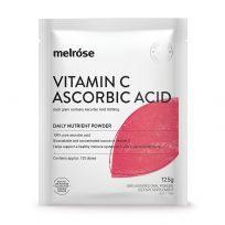 Melrose Vitamin C Ascorbic Acid Oral Powder 125g