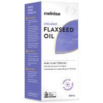 Melrose Organic Flaxseed Oil (Fridge Item) 500ml