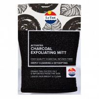 Le Tan Activated Charcoal Exfoliating Mitt