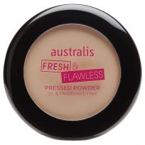 Australis Fresh & Flawless Pressed Powder Natural 12g