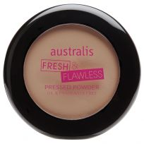 Australis Fresh & Flawless Pressed Powder Nude 12g
