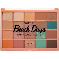 Australis Eye Shadow Palette Beach Days 22.5g