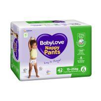 BabyLove Jumbo Nappy Pants Junior 42 Pack