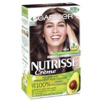 Garnier Nutrisse Hair Colour 4.0 Tamarind Dark Brown