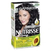 Garnier Nutrisse Hair Colour 1.0 Liquorice Black