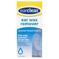 Ear Clear Ear Wax Remover Drops 12ml