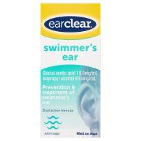 Ear Clear Swimmer's Ear Drops 40ml