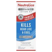 Neutralice Advance Headlice Treatment Lotion Family Pack 475ml