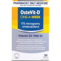 Ostevit D Vitamin D3 One-A-Week 30 Capsules
