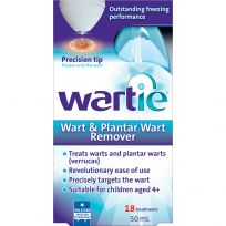 Wartie Advanced Wart Remover 18 Treatments 50ml