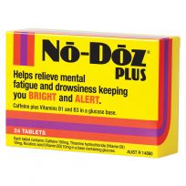 No Doz Plus 24 Tablets