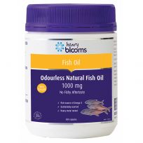 Henry Blooms Omega 3 Odourless Fish Oil 1000mg 400 Capsules
