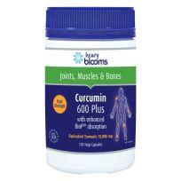 Henry Blooms Curcumin 600 Plus 120 Vege Capsules