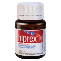 Hiprex Antibacterial 20 Tablets