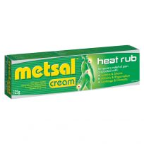 Metsal Heat Rub Cream 125g