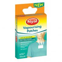 Nyal Vapourising Patches 850mg 6 Pack