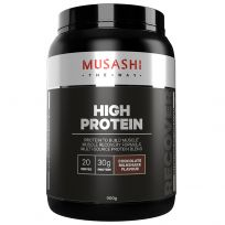 Musashi High Protein Iced Chocolate 900g
