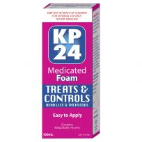 KP24 Head Lice Medicated Foam 100ml