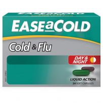 Ease a Cold Cold & Flu Day Night 24 Capsules