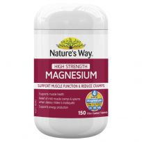 Nature's Way Magnesium 600mg 150 Tablets