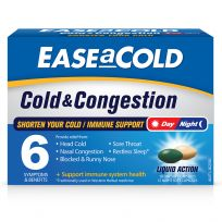 Ease a Cold Cold & Congestion Day Night 30 Capsules